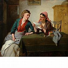 Attributed to Edward Charles Barnes The Love Letter