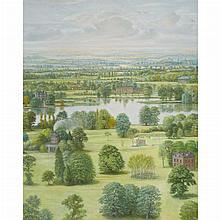 R. Bateman Fantasy Landscape, 1985