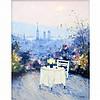 Jean Pierre Dubord French, b. 1949 La Terrasse sur Les Hauteurs de Rouen