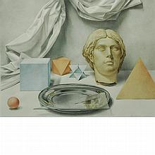 Martha Mayer Erlebacher American, 1937-2013 Classical Still Life, 1985