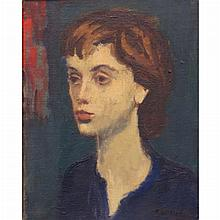 Raphael Soyer Russian/American, 1899-1987 Head of a Woman