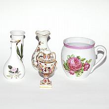 Group of Ten English and Continental Porcelain Vases