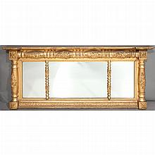 Classical Gilt-Wood and Composition Mirror