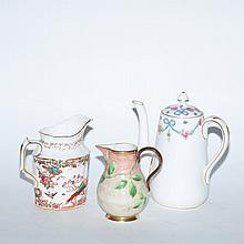 Group of Twelve Porcelain Tea Articles