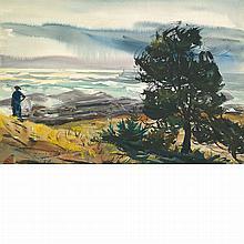 Andrew George Winter American, 1893-1958 Fog Bank, Monhegan Island, 1940