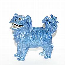 Chinese Robin's-Egg Blue Glazed Figure of a Dog