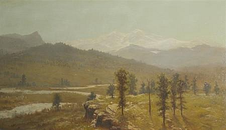 Charles Morgan McIlhenney American, 1858-1904 The Rockies Beyond