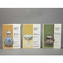 The Edward T. Chow Collection  Set of three books