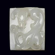 Chinese White Jade Seal