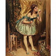 Charles Alexandre Coessin de la Fosse French, 1829-1910 L'Ecuyere de Cirque
