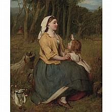 Sir William Quiller Orchardson British, 1832-1910 A Mother's Love
