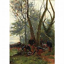 Alexandre Bloch French, 1860-1919 Le Campement, 1900