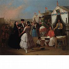 Attributed to Joaquin Dominguez Becquer Festival in Seville