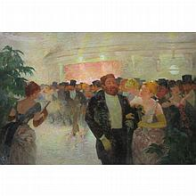 Lucien Laurent-Gsell French, 1860-1944 Sortie du Bal