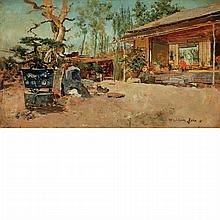 Harry Humphrey Moore American, 1844-1926 Japanese Tea Garden, 1881