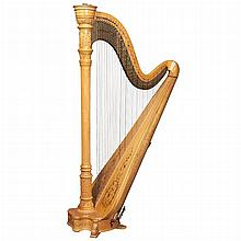Lyon & Healy Maple Harp