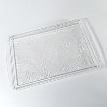 Lalique Molded Glass Perdrix Tray