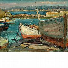 Antonio Cirino American, 1889-1983 Fishing Boats