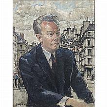 Constantine Kluge French, 1912-2003 Portrait of a Gentleman, thought possibly to be Morgan Knott