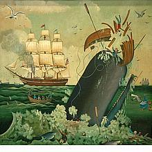 Jacob Jaskoviak Knight American, 1938-1994 Whaling