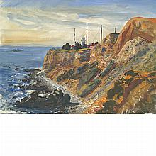 Andrew George Winter American, 1892-1958 Palos Verdes Lighthouse