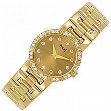 Lady's Gold and Diamond 'Dancer' Wristwatch, Piaget