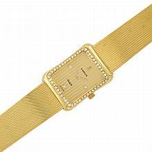 Lady's Gold and Diamond Wristwatch, Corum