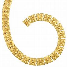 Hammered Gold Necklace, Tiffany & Co., Paloma Picasso