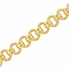 Gold Link Bracelet, by Marvin Schluger