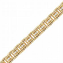 Gold and Diamond Bracelet, by Marvin Schluger