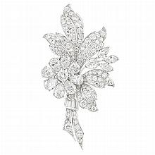 Platinum and Diamond Brooch, Tiffany & Co.