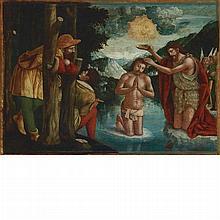 Circle of Francesco de Tatti The Baptism of Christ