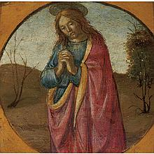 Bartolomeo di Giovanni Italian, Active 1488-d. 1501 Saint John the Evangelist in Prayer