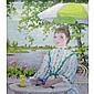 Susan Eisendieck French, 1908-1998 Terrasse au Bord D'une Riviere