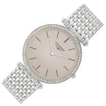 Gentleman's White Gold Wristwatch, Longines