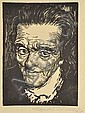 Wächtler, Leopold. Geb. 1896 Penig, war ansässig in Leipzig5 Blatt Bildnisse: Franz Liszt, Pestalozzi, Gerhart Hauptmann, Johannes Brahms, Felix Medelssohn-Bartholdy. Holzschnitte, sign., betitelt, z.T. im Stock zusätzl. Gebräunt , teilw.