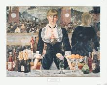 Manet A Bar at the Folies-Bergere Poster