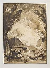 Fragonard Love Scene Lithograph