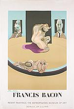 Signed 1975 Bacon Metropolitan Museum of Art Mourlot Lithograph