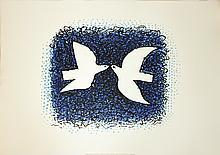 1999 Braque Couple D'Oiseaux Lithograph