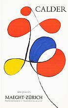 1973 Calder Maeght Zurich Lithograph