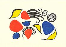 Calder Sea Objects Lithograph