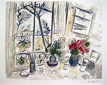Chagall Fleurs du Parc Lithograph