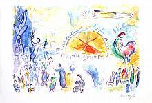 Chagall Les Quatre Saisons (Four Seasons) Giclee
