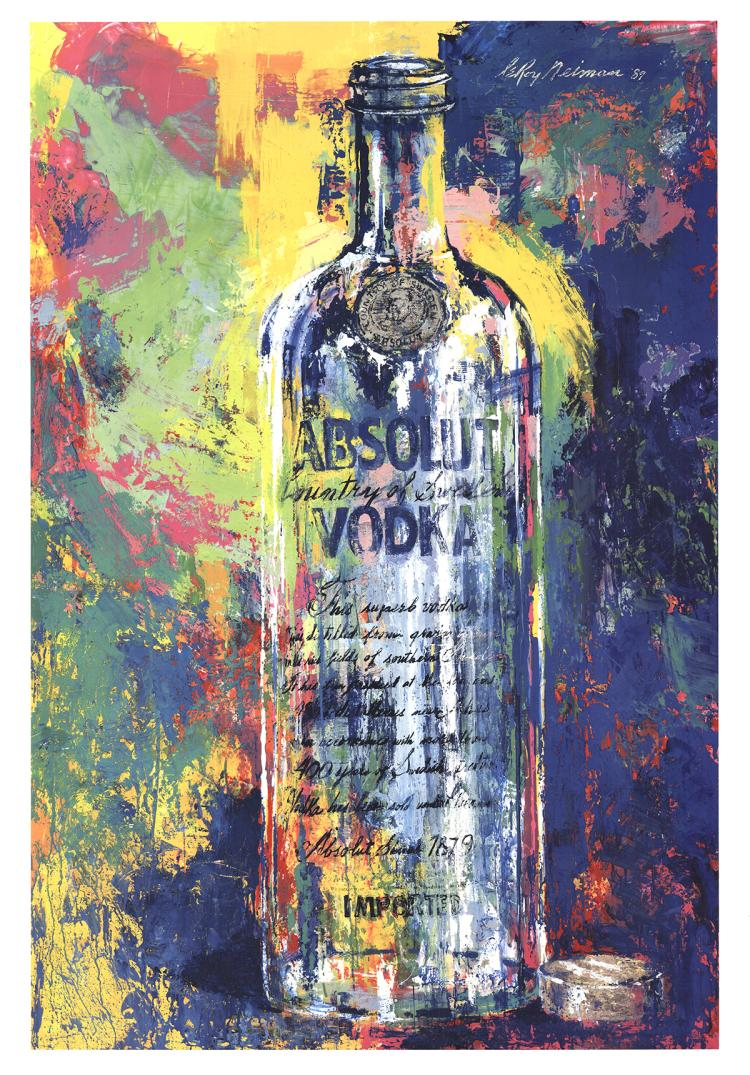 Leroy Neiman - Absolute Vodka