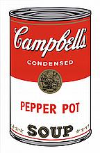 Warhol (after) Campbell's Pepper Pot Serigraph