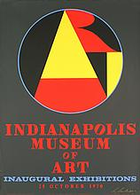 Signed 1970 Indiana Indianapolis Museum of Art Serigraph