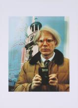 1982 Sello Portrait of Andy Warhol Poster