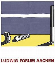 1993 Lichtenstein Ruins Serigraph