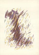 Signed Bazaine Abstract composition Lithograph